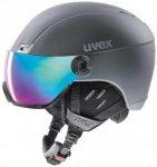 UVEX Skihelm / Visierhelm hlmt 400 Visor Style, Größe S in Grau