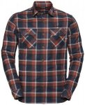 VAUDE Herren Hemd-Bluse Men's Jerpen LS Shirt II, Größe XL in Cherrywood