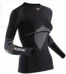 X-BIONIC Damen Shirt LADY ENERGIZER MK2 UW, Größe XS in Black/White, Größe X