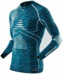 X-BIONIC Herren Shirt MAN ACC_EVO MELANGE UW, Größe S/M in Blau