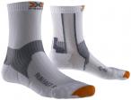 X-SOCKS Herren Run Fast, Größe 45/47 in Weiß