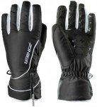 ZANIER Damen Handschuhe SEEFELD.ZX, Größe M in schwarz