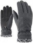 ZIENER Damen Handschuhe Iruka Lady, Größe 6 in Grau