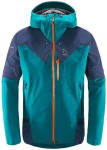 Haglöfs L.I.M. Touring Proof Jacket Men Hardshelljacke alpine green/tarn blue