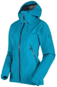 Mammut Ridge HS Hooded Jacket Women Hardshelljacke aqua