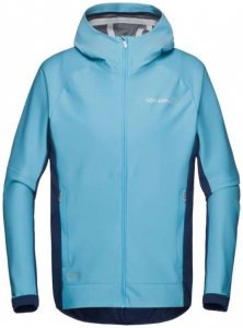 Norrona Bitihorn Windstopper Zip-Hood Women Windjacke trick blue
