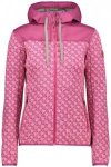 CMP Fix Hood Jacket Women hot pink-bianco