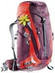 Deuter ACT Trail Pro 38 SL aubergine-fire Wanderrucksack