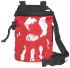LACD Chalk Bag Hand of Fate red