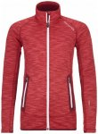 Ortovox Fleece Space Dyed Jacket Women hot coral blend