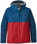 Patagonia Torrentshell Jacket Men Jacke big sur blue w/fire red