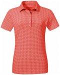 Schöffel Polo Shirt Altenberg1 Women aura orange