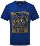 Sherpa Yeti Tee Men T-Shirt samudra blue