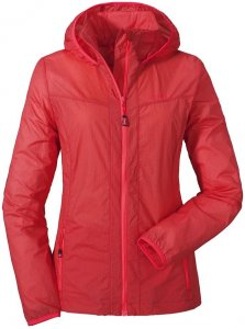 Schöffel Windbreaker Jacket L Kapuzenjacke Damen orange