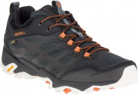 Merrell Moab FST Gore-Tex Walkingschuhe Herren schwarz,black-orange