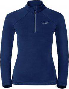 Odlo Snowbird Midlayer 1/2 Zip women Fleece-Pullover Damen dunkelblau S, Gr. S