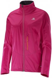 Salomon Lightning Softshell Jacket W Windjacke Damen pink,gaura pink/yarrow pink