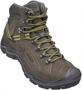 Keen Galleo Mid WP Men Wanderschuh Herren olive,black/greenery