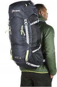berghaus Wilderness 65+15 Trekkingrucksack schwarz