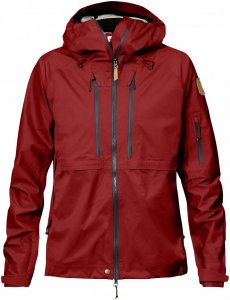 Fjällräven Keb Eco-Shell Jacket W Hardshelljacke Damen rot XS, Gr. XS