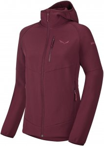 Salewa Puez Softshell W Jacket Damenjacke bordeaux