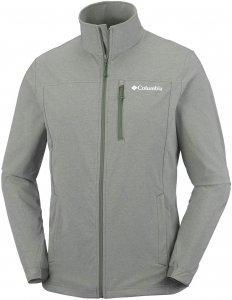 Columbia Heather Canyon Hoodless Jacket Herren Softshelljacke grün S, Gr. S
