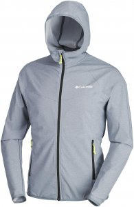 Columbia Heather Canyon Softshell Jacket Herren grau