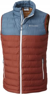 Columbia Powder Lite Vest Men Outdoorweste Herren braun L, Gr. L