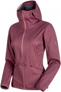 Mammut Ultimate V Tour SO Hooded Jacket Women Softshelljacke Damen lila XL, Gr. XL