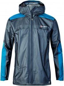 berghaus GR20 Storm Jacket Wetterschutzjacke Herren blau M, Gr. M