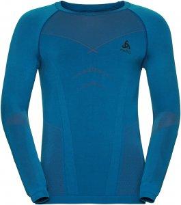 Odlo Shirt l/s crew neck Evolution Warm men Herren blau