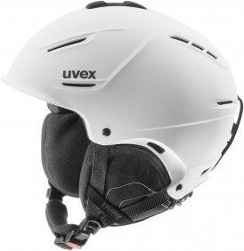 Uvex p1us Skihelm weiß 59-62cm, Gr. 59-62cm