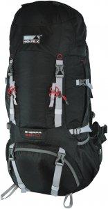 High Peak Sherpa 65+10 Rucksack schwarz