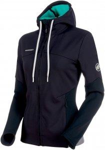 Mammut Alnasca ML Hooded Jacket women Kapuzenjacke Damen schwarz L, Gr. L