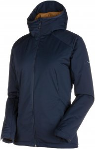 Mammut Chamuera SO Thermo Hooded Jacket Women Softshelljacke Damen dunkelblau M, Gr. M