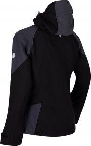Regatta Desoto III Softshelljacke Damen schwarz