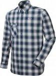 Salewa Fanes Check 2 Dry M L/S Shirt Wanderhemd Herren rot 54, Gr. 54