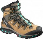 Salomon Quest 4D 2 GTX women Wanderschuhe Damen braun,shrew/camel gold ltr/teal