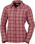 Columbia Silver Ridge Plaid L/S Shirt women Langarmhemd Damen rot-braun