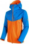 Mammut Nordwand Pro HS Hooded Jacket Men Hardshelljacke Herren blau/orange L, Gr