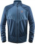Haglöfs Multi WS Jacket Men Softshelljacke Herren dunkelblau XL, Gr. XL