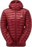 Mountain Equipment Arete Hooded Jacket wms Daunenjacke Damen rot