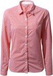 Craghoppers Nosilife Shona Langarm Bluse Damen rosa