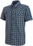 Mammut Asko Shirt Men Freizeithemd Herren dunkelblau M, Gr. M