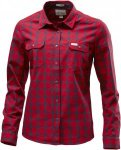 Lundhags Flanell WS Shirt Damen rot S, Gr. S