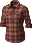 Columbia Silver Ridge L/S Flannel Shirt Women Langarmhemd Damen rot M, Gr. M