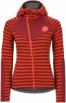 Edelrid WO Creek Fleece Jacket Damen rot 42, Gr. 42
