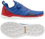 Adidas Terrex Agravic Boa men Herren Trailrunning-Schuhe blau-rot,blue beauty /