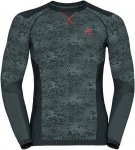 Odlo Blackcomb Evolution Warm Shirt l/s men Herren grau M, Gr. M
