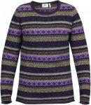 Fjällräven Övik Folk Knit Sweater W Pullover Damen lila M, Gr. M